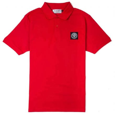 "Senlak ""Brego"" Polo Shirt - Red"